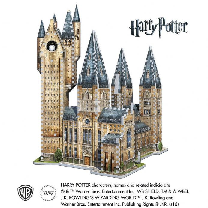 Harry Potter - Hogwarts Astronomy Tower 3D Puzzle (875pc) | Buy now at The G33Kery - UK Stock - Fast Delivery